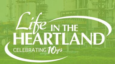 Life in the Heartland logo
